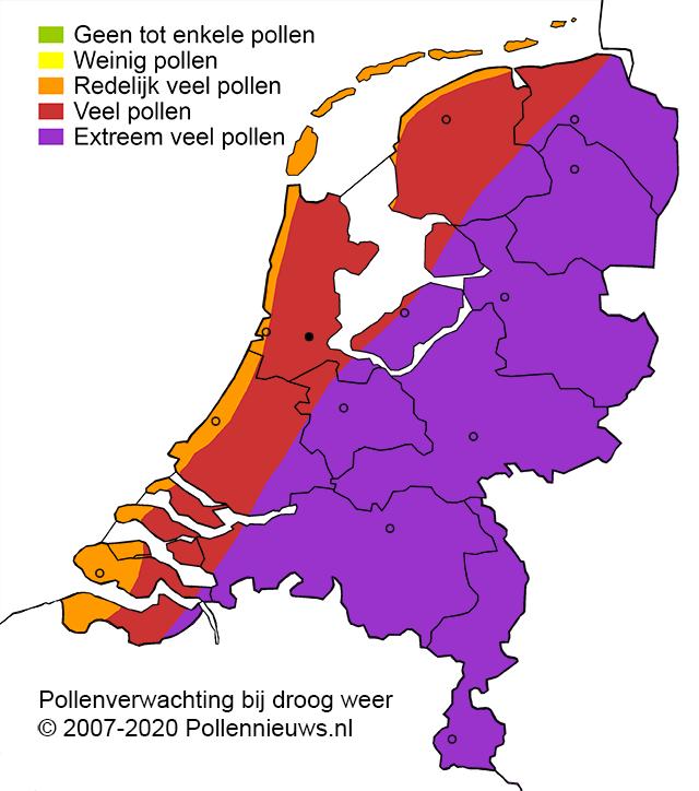pollenverwachting 2-6-20